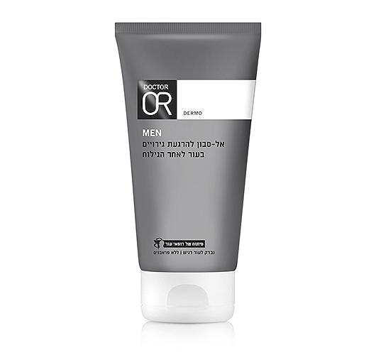 סבון פנים להרגעת גירויים ואדמומיות בעור