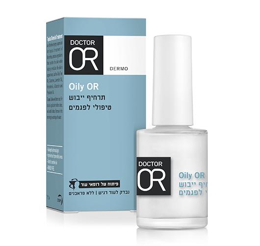 Oily OR - תרחיף ייבוש טיפולי לפגמים