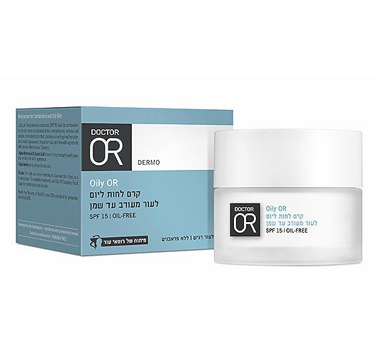Oily OR - קרם לחות ליום לעור מעורב עד שמן