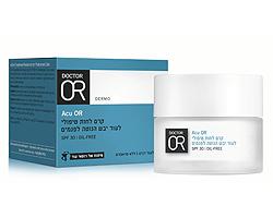 Acu OR קרם לחות טיפולי לעור יבש הנוטה לפגמים