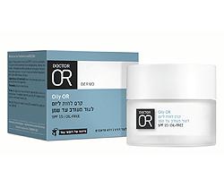Oily OR קרם לחות ליום לעור מעורב עד שמן SPF30