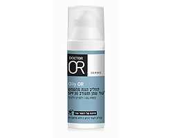 Oily OR תחליב הגנה מהשמש לעור שמן ומעורב SPF30
