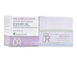 AGE COMPLEX SUPER ALPHA DAY CREAM סופר אלפא קרם יום