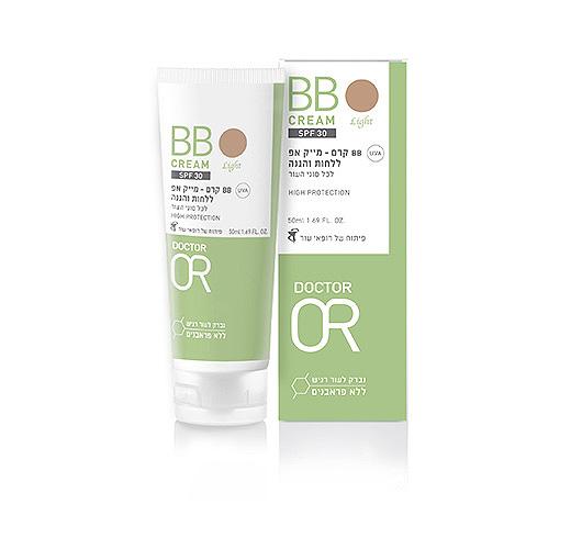BB קרם - מייק אפ ללחות והגנה SPF 30