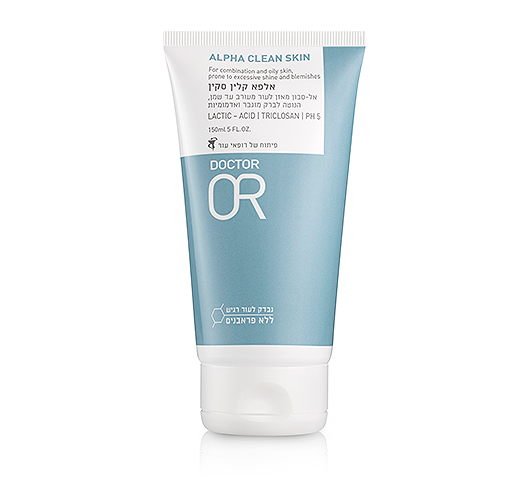 Oily OR - אל-סבון לניקוי עור מעורב עד שמן