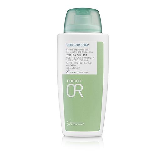 Sebo OR אל-סבון לעור פנים רגיש ואדמומי